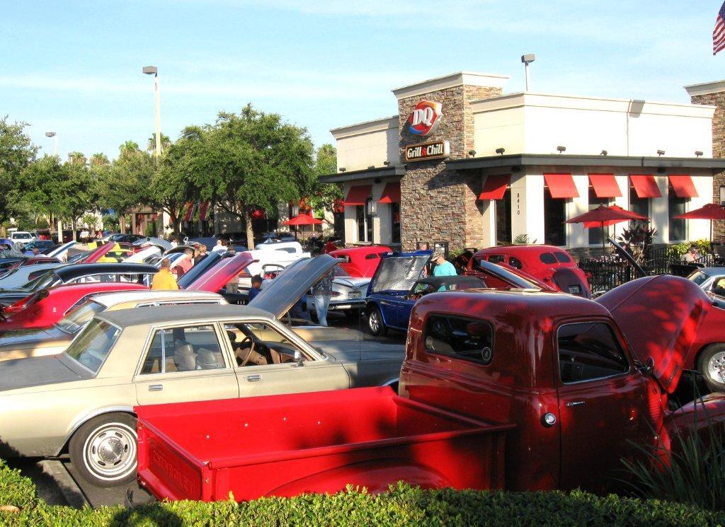 Longwood Cruise In Car Show